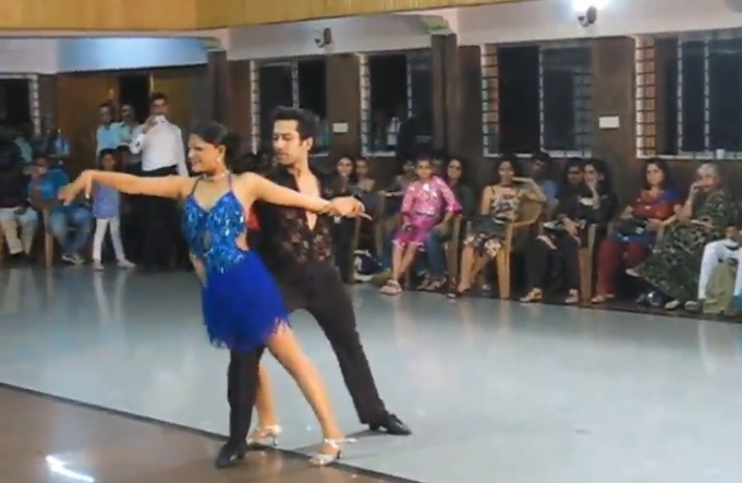 Nakuul Mehta Dancing Rumba