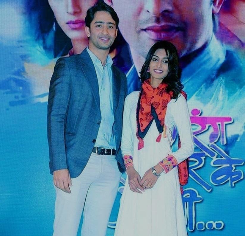 Shaheer Sheikh And Erica Fernandes