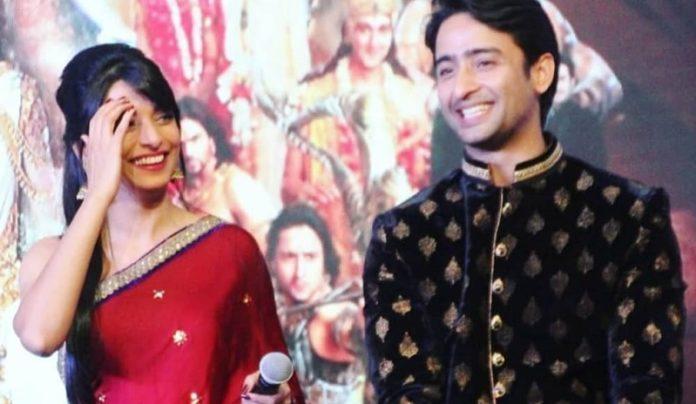 Shaheer Sheikh and Pooja Sharma