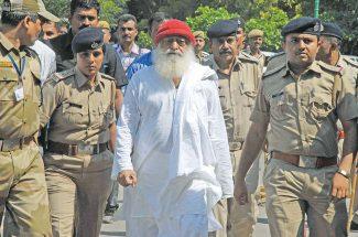 social indian babas behind bars