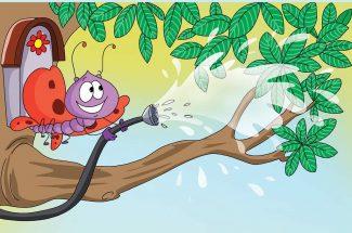 hindi story for kids van mein utsav