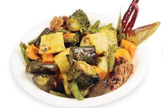 food and recipe in hindi taste of bengal stuffed torai