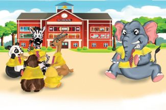 hindi story for kids teen baatein