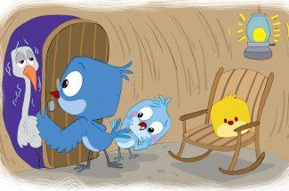 hindi story for kids migratory Bird