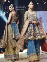Ladies Embroidery Sharara Suit