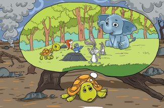 hindi story for kids And-Greenery-Returned