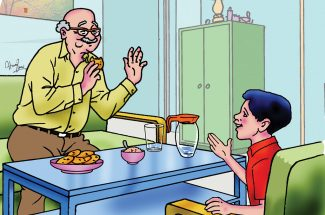 hindi story for kids the grumpy uncle