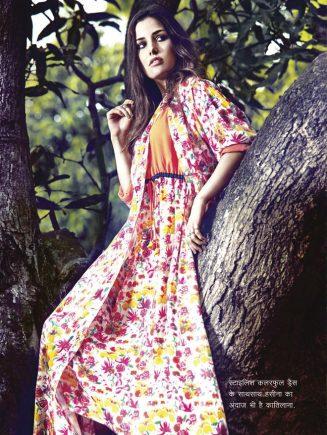 stylish colorful dress
