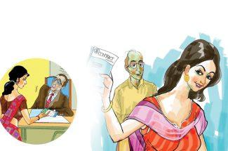 hindi story commission