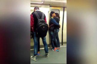 delhi metro video clip