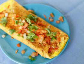 वैज आमलेट: बेसन के स्वाद में फ्यूजन