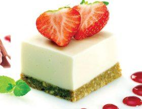 स्वीट बाइट्स: व्हाइट चौकलेट चीज केक