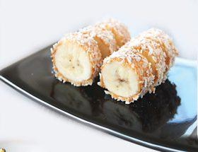 झट से बनाएं चौको क्रीम बनाना सूशी