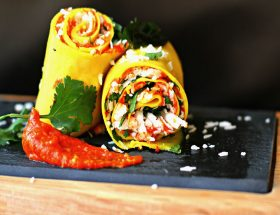 खांडवी चाट: खास मेहमानों के लिए खास रेसिपी