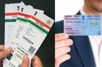 link aadhar and pan card