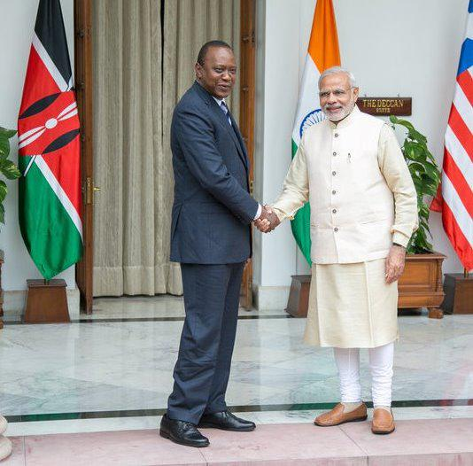 Indian PM pledges to support development of Kenya's healthcare sector
