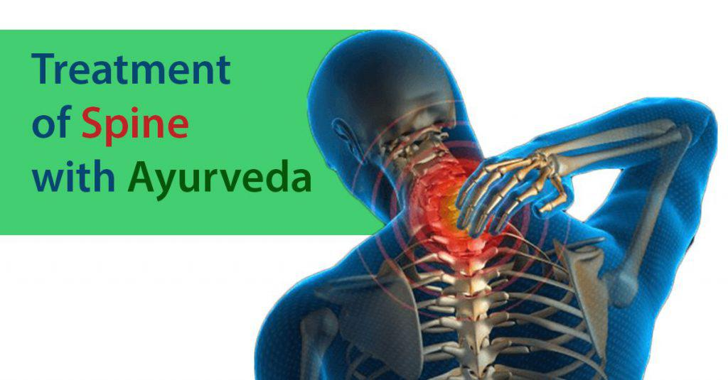 Treatment of Spine with Ayurveda