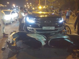 Surat hit and run accused arrested