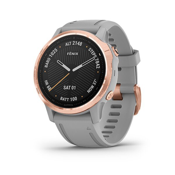 Rose Gold-tone with Powder Gray