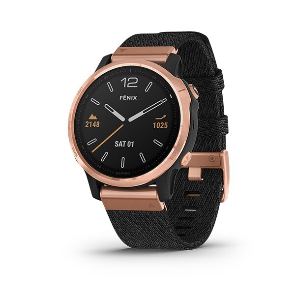 Rose Gold-tone with Heathered Black