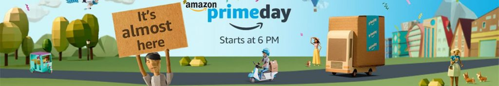 Amazon Prime Day 2017 Sale Offers & Deals in India