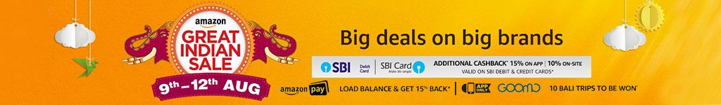 Amazon Great Indian Festival Sale Offers and Deals