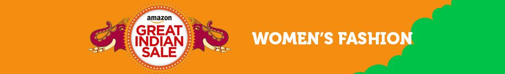Amazon Great Indian Festival Sale Offer on Women's Fashion