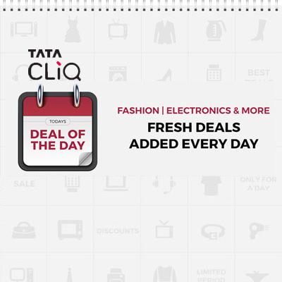 TataCLiQ Deal of the Day | Get Exclusive Deals & Discounts
