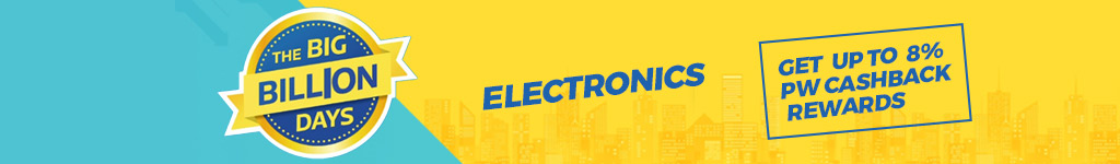 Flipkart Big Billion Day Sale Offers & Deals on Electronics