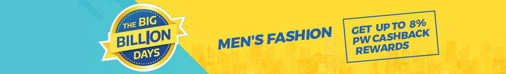 Flipkart Big Billion Day Sale Offers & Deals on Men Fashion