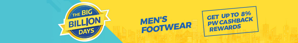 Flipkart Big Diwali Sale Offers & Deals on Men Footwear