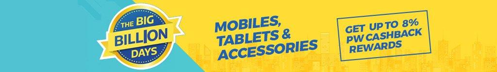 Flipkart Big Billion Day Sale Offers & Deals on Mobiles, Tablets & Accessories