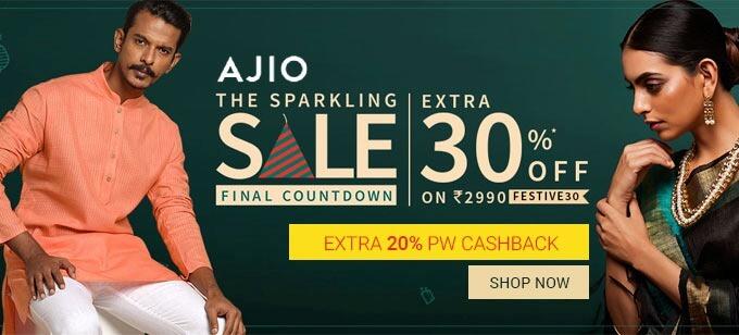 Ajio The Sparkling Sale