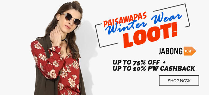 Jabong Winter Sale Offers
