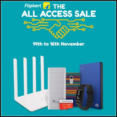 Flipkart All Access Sale |Electronics and Auto Accessories
