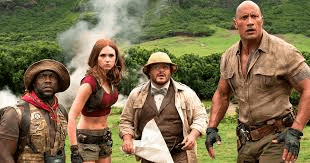 Jumanji Welcome To The Jungle Movie tickets Offer
