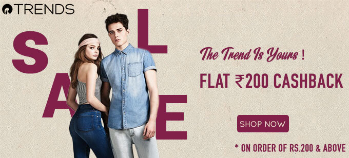 reliance trends offer