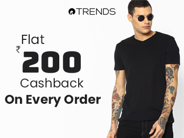 Get Rs.200 Cashback on All Order Orders!!