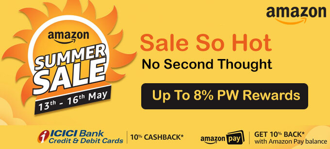 Amazon Summer Sale Offers 13th-16th May 2018