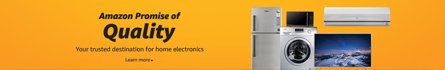 Amazon Great Indian Sale Offers on Appliances (October 10th -October 15th, 2018)