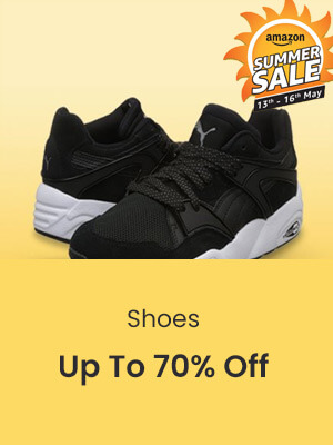 25cb2beb429 Amazon Great Indian Summer Sale Offers on Men Shoes - PaisaWapas