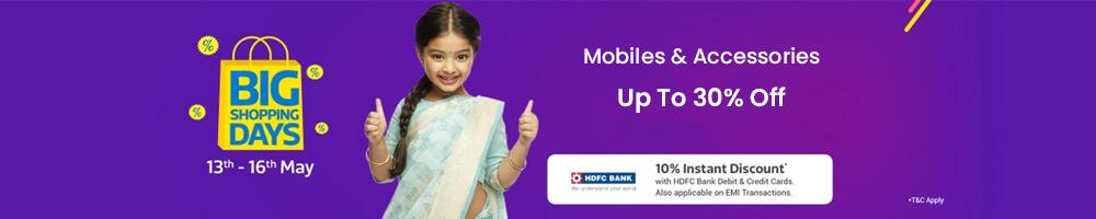 Flipkart Big Shopping Days Offers on Mobiles - Offers Aise jo Har Naa Ko Haan mein Badal De!