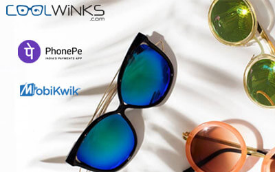 Rs.900 Cashback On Rs. 500 Order On Sunglasses And Eyeglasses.