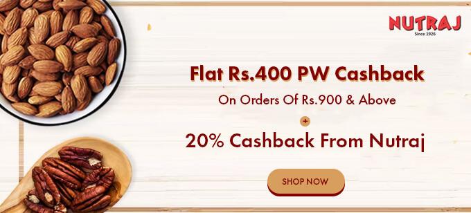 nutraj back offer