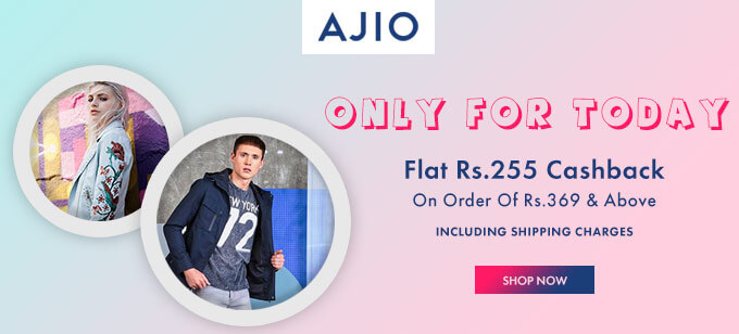 Ajio Flat Cashback Offer