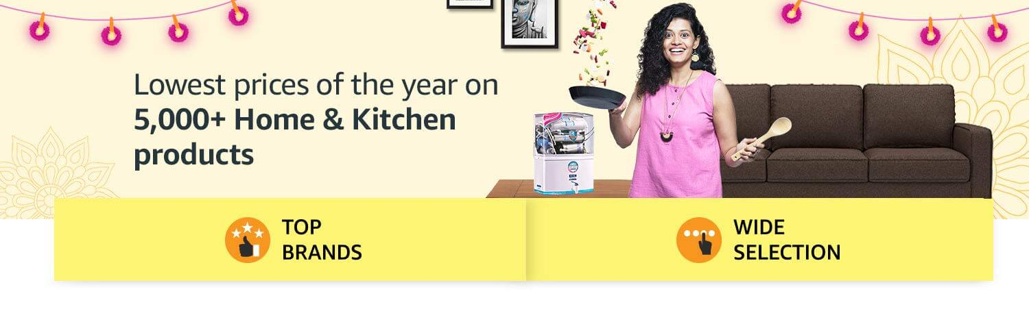 Amazon Great Indian Sale Offers on Home and Kitchen (October 10th -October 15th, 2018)