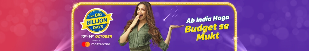 Flipkart Big Billion Days Sale Offers (October 14th - October 14th 2018)