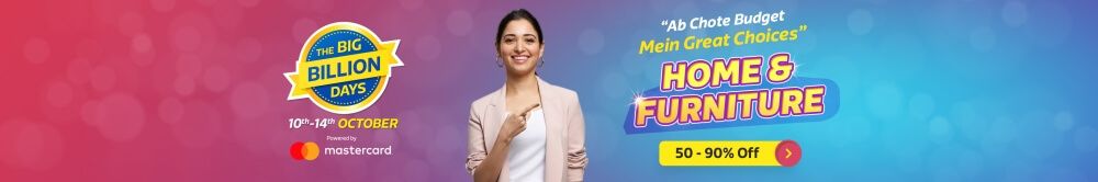 Flipkart Big Billion Days Sale Offers on Furniture(October 14th - October 14th 2018)