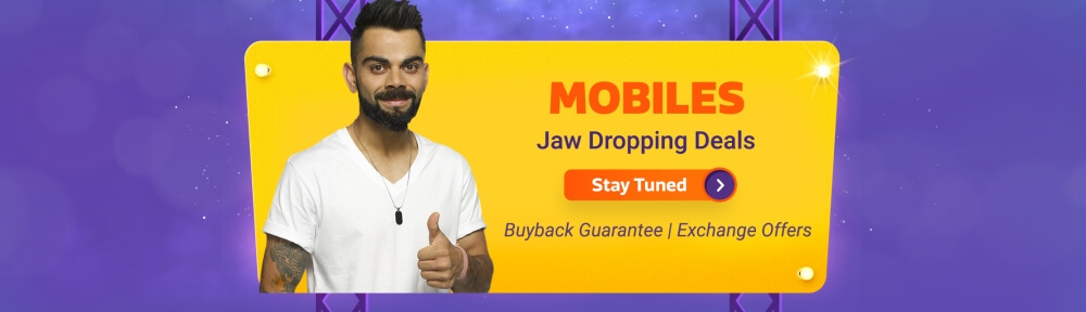 Flipkart Big Billion Days Sale Offers ON Mobiles(October 14th - October 14th 2018)