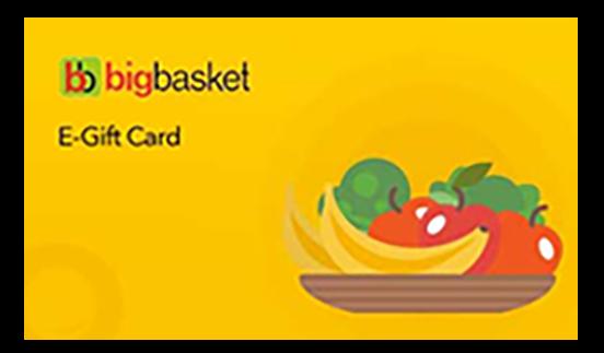 Bigbasket E-Gift Card